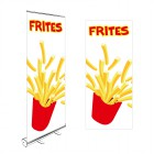 roll up imprimé frites