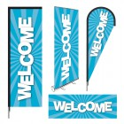 PLV d'accueil WELCOME