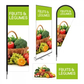 Signalétique Fruits & Légumes